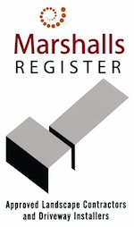 Registered on Marshalls approved list for Driveway installations